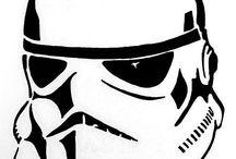 Starwars stencils