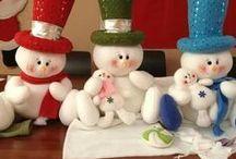 boneco neve fazer