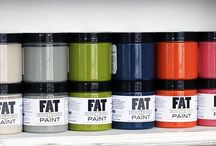 FAT Paint / Every room in your home should have a piece that you have hand crafted, made your own!
