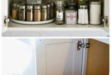 Organize your Space | Storage bonus. / Good organization is functional and visually pleasing.  Some organizational ideas help contribute to storage.  Storage, organization, and function.  Loving these ideas!