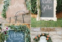 Wedding Signage Ideas / Stylish Wedding Signs, Posters, Wall Art, Quotes, Stationery