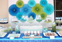 Celebrate | Under the Sea Baby Shower / by Haute Chocolate | Rachel Rouhana