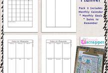 Tagebuch/Journal/Planer