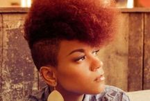 Natural Hair - short styles