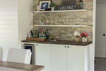 Cabinet / coffee bar