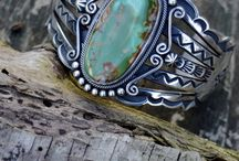 Stuff / filigran, wire, cameos, dreamcatcher, turquoise, sterling silver...