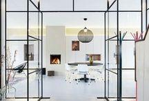 Binnendeuren glas & staal