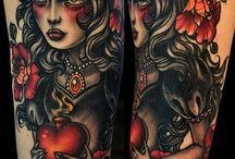 tattoo's / by Sherri Mcclendon
