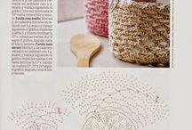 crochet frascos patrones