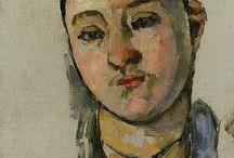 Portre madam Cezanne