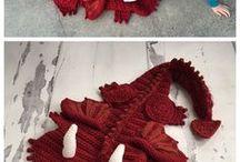 manta para niños de dragón