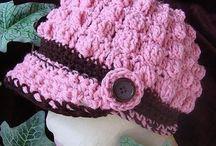 Hats, caps, & scarfs - oh my!   / by Wanda Mast Bills
