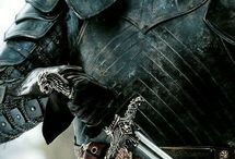 Medieval Times / The Knight's Oath  Be without fear in the face of your enemies. Be brave and upright that God may love thee. Speak the truth always, even if it leads to your death. Safeguard the helpless, and do no wrong.  That is your Oath. Arise a Knight.