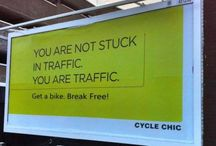 Bicycles are green