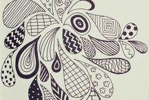 Art-Zentangle & Doodles / by Kala Thompson