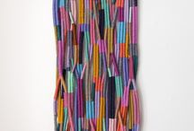 TEXTILE | WONDERFULL WEAVINGS | Inspiration of colourful Artist Anne van den Heuvel |