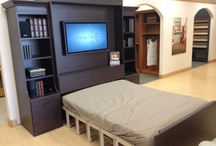 Guest Room Ideas / You can transform any space into a guest room or simply maximize space in a bedroom with a stylish, sturdy and comfortable wall bed or authentic Murphy bed from California Closets. / by California Closets Denver