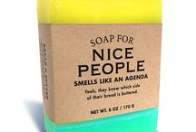 Funny soaps