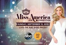 Miss America 2016 Contestants / Watch live 9/13/15 at 9|8c on ABC!