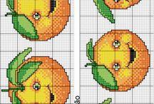 Punto croce - Frutta ridente