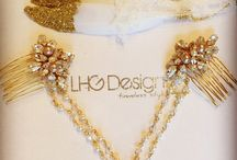 2016 bridal hair accessories and jewellery boho rose gold from LHG Designs / Bridal hair accessories trend and jewellery for 2016
