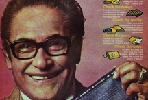 Vintage Indian Ads  / Down the memory lane. When celebrities in Ads were not so much pampered. Brands and their execution.