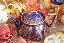 Teapots, cups and tea / by Laura Kilpatrick