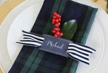 Plaid in weddings