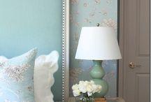 coś niebieskiego.../something blue / kolor niebieski we wnętrzach blue home decor French style