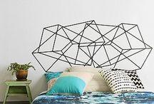 Bedroom design hipster ideas / Ideas for bedroom design for men