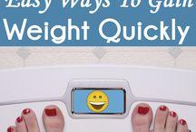 Weight Gain Plan
