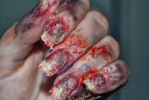 ideas for Halloween 2014 / Nail art, home decor, party, costume ideas