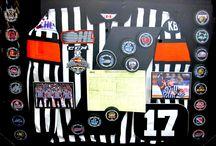 Sports Framing / Custom frame your sports memorabilia and accomplishments.