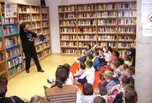 """""""Borrón y Cuento Nuevo"""" en la Biblioteca Pública de La Haba / Nieves y Dani se ganaron a los jabeños de todas las edades que disfrutaron a lo grande de este maravilloso dúo de Cuentacuentos. ¡Unas Sesiones excepcionales, superlativas!"""