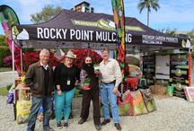 Garden Show Displays / Rocky Point Mulching displays from annual garden shows and exhibitions