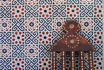 moroccan tiles & ethnic design