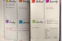 #ideas for my bullet journal <3