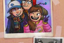 gravity falls mabel, tyrone, and dipper