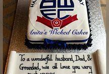 Bolton Wanders cake