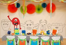 Birthday Party - Monster Theme / by Bethany Newton