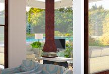 Home and Living / Visuals Interieur en Natuur. Diverse Visuals vanuit projecten waar eenwording van interieur en tuin centraal staat. Beleving van de tuin vanuit het interieur.