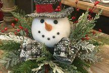 Weihnachtliche Gestecke