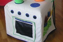 Kids kitchen sew