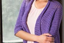 Crochet: Sweaters, Shawls & Vests