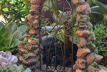 Fairy Gates / Gates to an enchanting fairy garden.