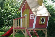 Игровые садовые домики