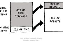20/80 Pareto - focus on the 20% of tasks which provide 80% of results ?