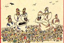 Kreslené vtipy - Kantorek
