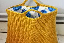 tašky háčkované