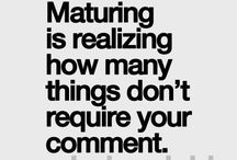 AGE IS JUST A NUMBER, MATURITY IS DIFFERENT / 'Nuff said...